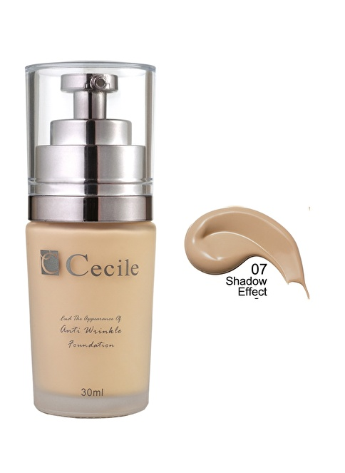 Cecile End The Appearance Of Anti Wrinkle Foundation  07 Bej